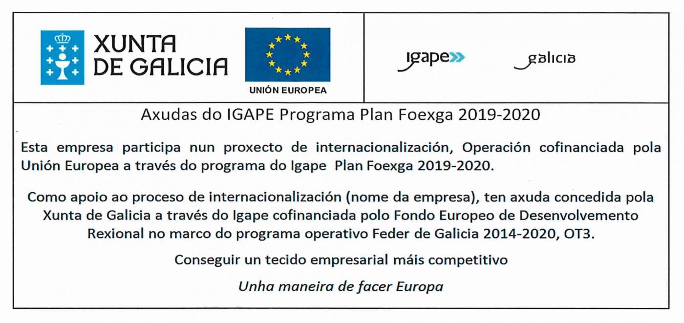 Programa Plan Foexga 2019 2020